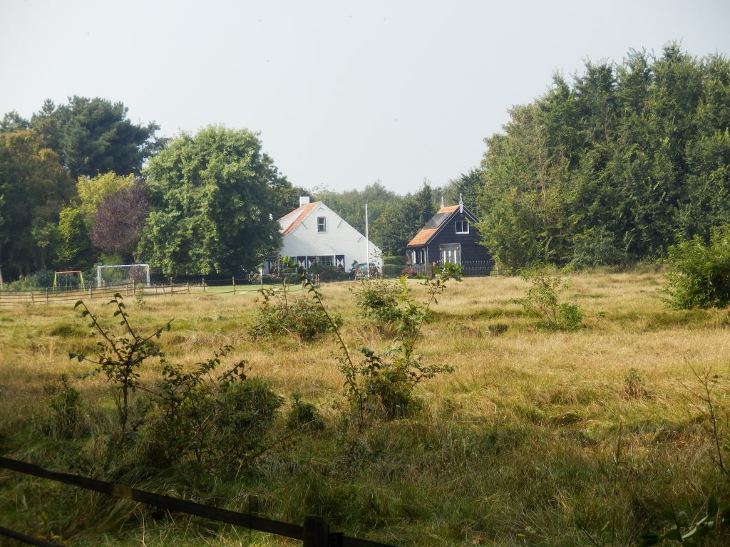 Huisje in de polder aan de Jan van Renesseweg
